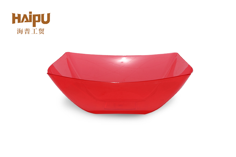 Food safe eco friendly PS large plastic bowl
