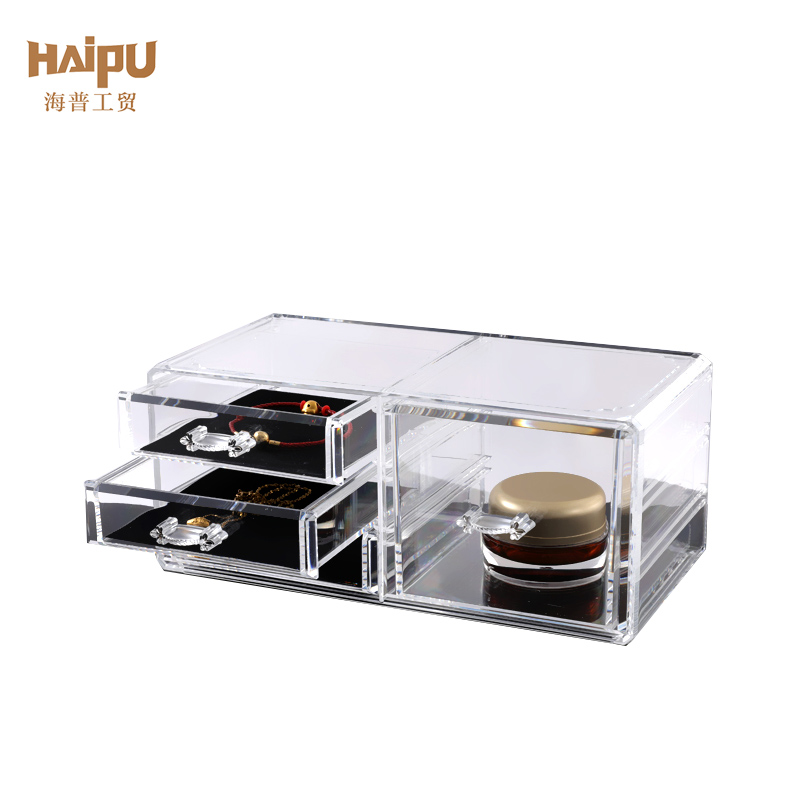 Transparent Makeup Cosmetic Storage Case Organizer Beauty Organizer Cosmetic