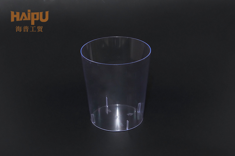 Custom cheap transparent plastic cup