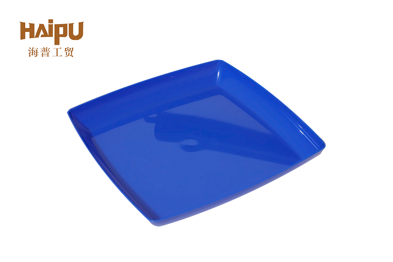 Disposable Plastic Cutlery Square Platter