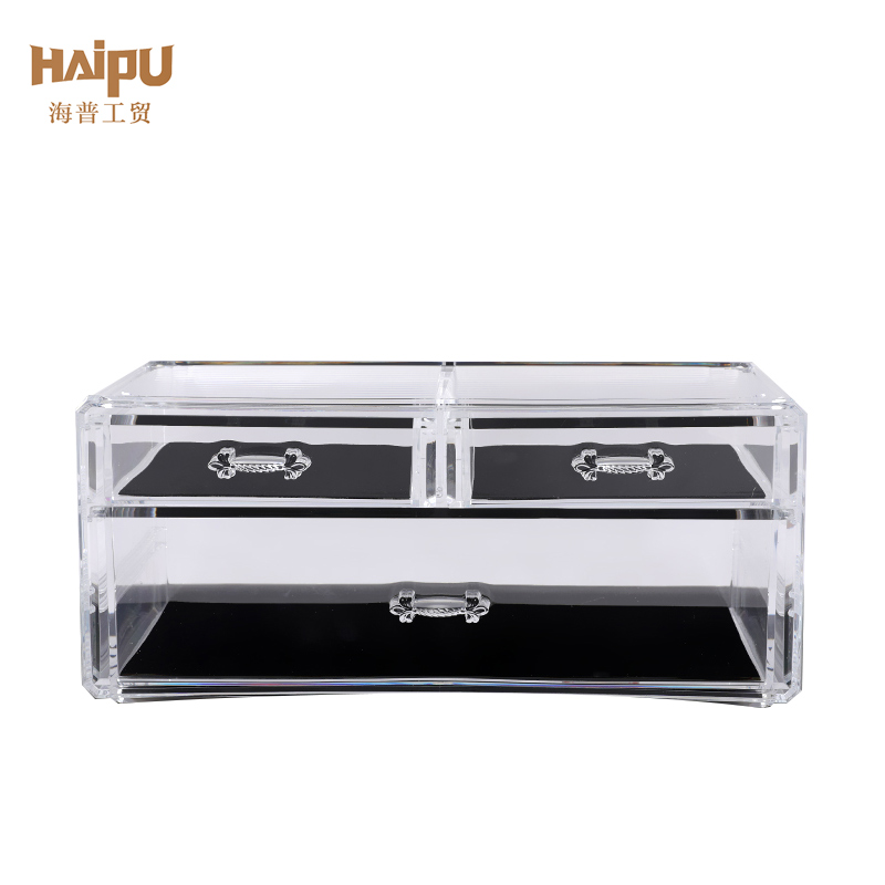 High Quality Transparent Makeup Organizer Cosmetic Storage Box